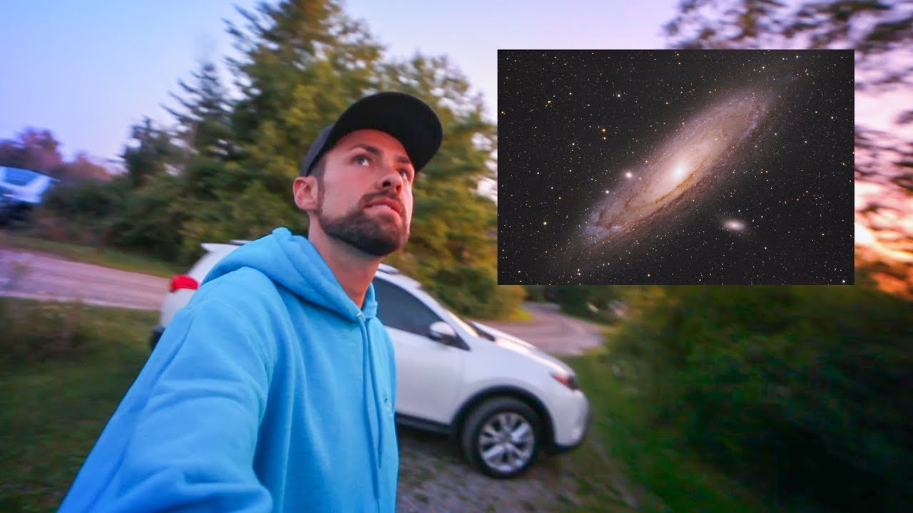 Taking a Picture of THE ANDROMEDA GALAXY