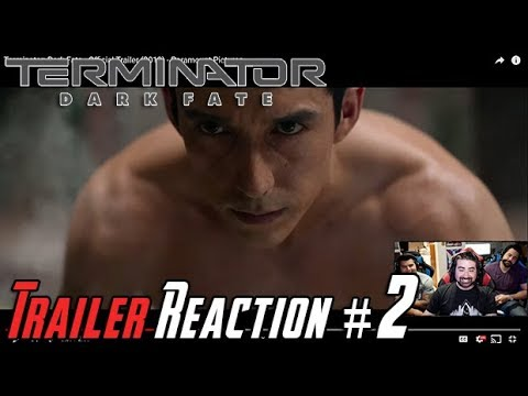 Terminator: Dark Fate Trailer #2 - Angry Reaction!