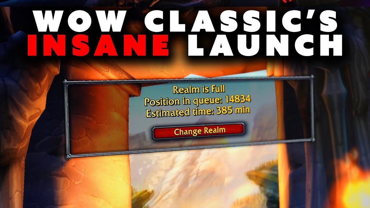 The Insane Release of WoW Classic