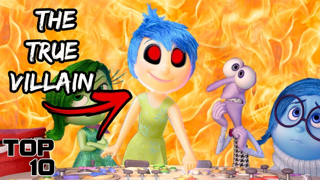 Top 10 Scary Inside Out Theories | Disney Theories