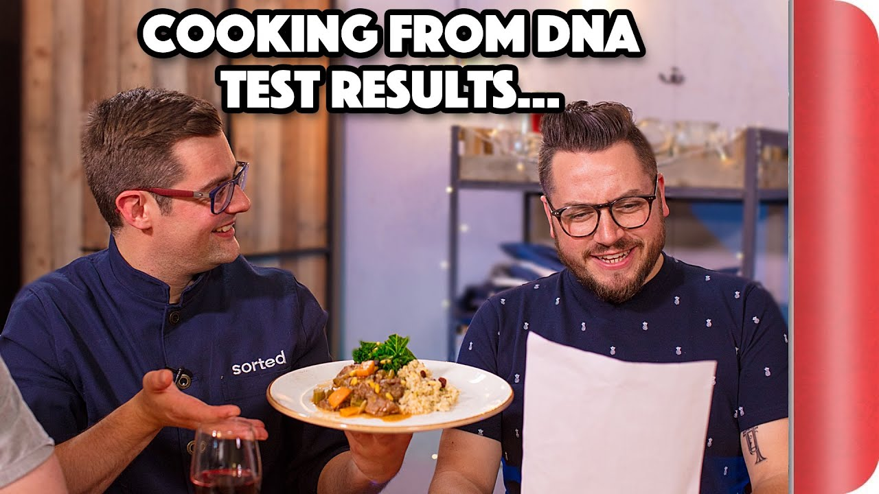 Using someone's DNA test results to cook their 'perfect' dish!