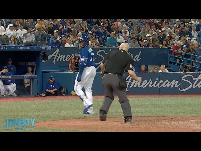 Vladdy Jr gets ejected for the first time in his career, a breakdown