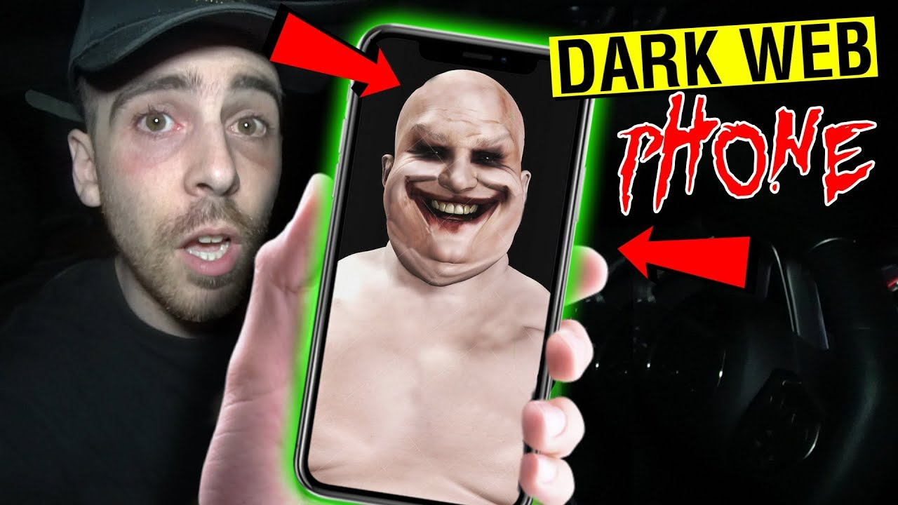 WE BOUGHT A PHONE FROM THE DARK WEB AND IT TRACKED US!! (SCARY)