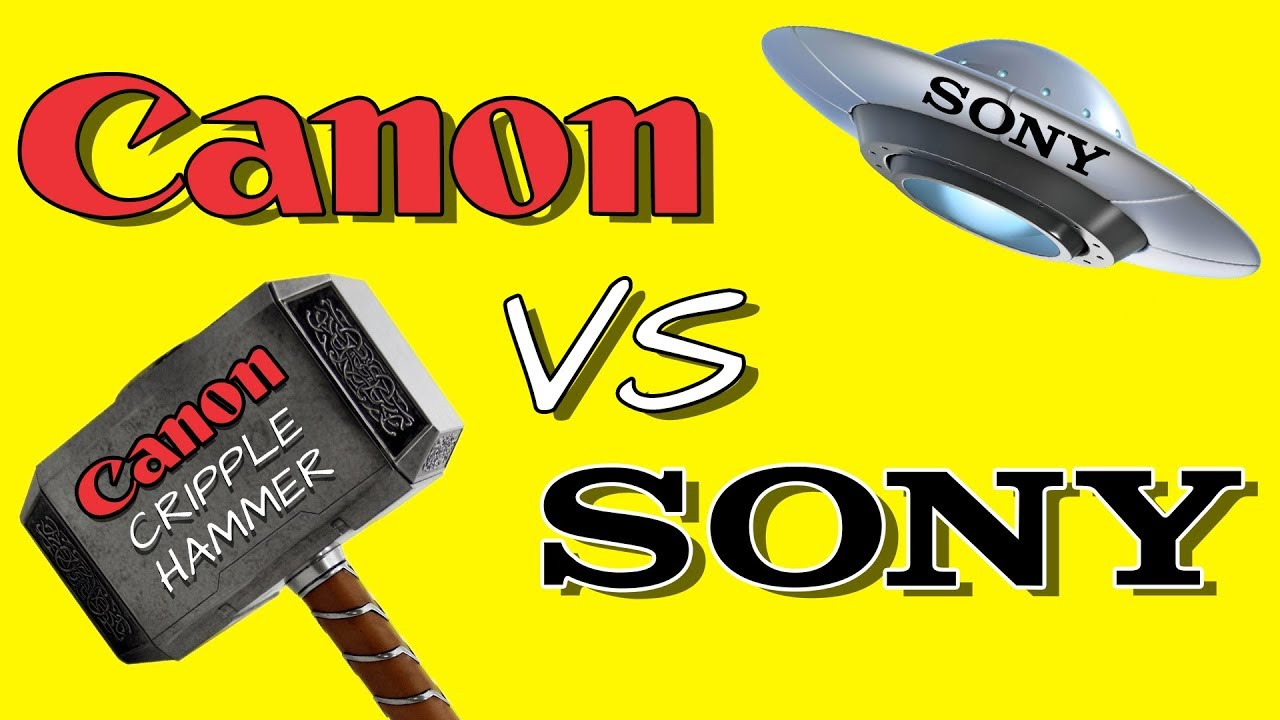 What Canon and Sony Are Doing Wrong