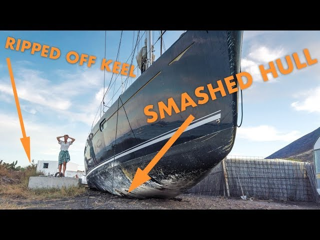 What happens when a boat is beached? [boatbuilder's walkthrough]