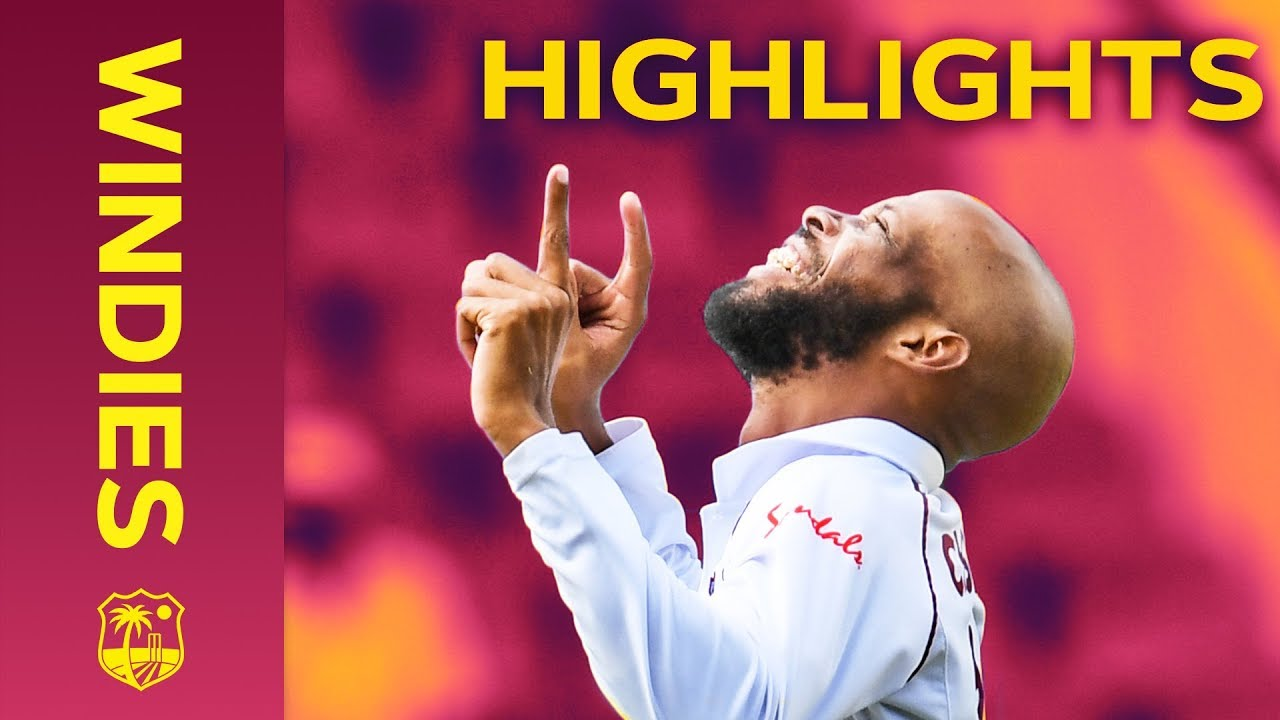 Windies Defeated as Bumrah Takes 5-7 | Windies vs India 1st Test Day 4 2019 - Highlights