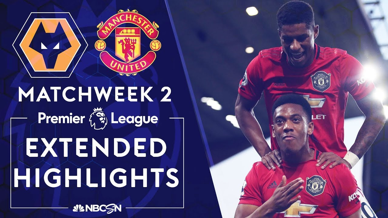 Wolves v. Manchester United | PREMIER LEAGUE HIGHLIGHTS | 8/19/19 | NBC Sports