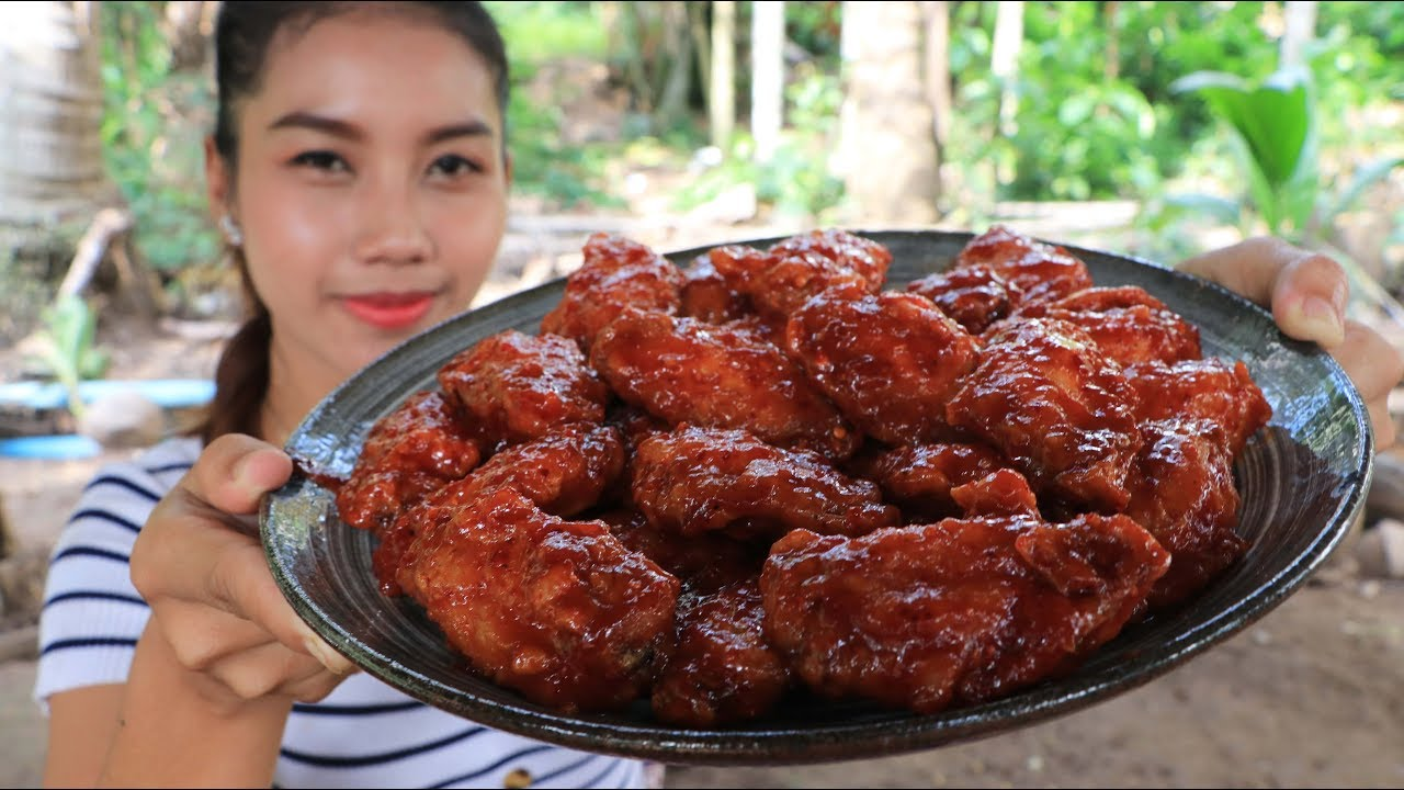 Yummy cooking crispy chicken wings recipe - Cooking skill